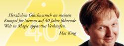 Mac King - Stevens Magic Emporium