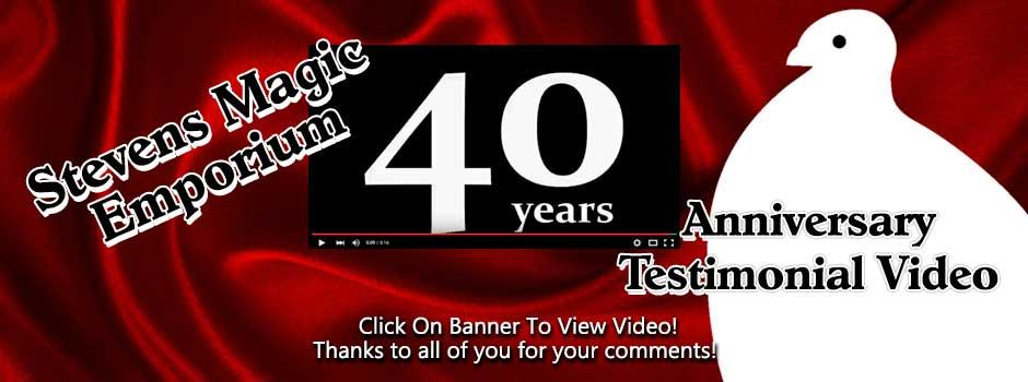 Stevens Magic Anniversary Video