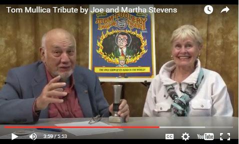 Tom Mullica Video Tribute