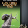 Ultimate Slow Motion Newspaper Tear (DVD) Nick Lewin