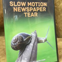 Slow Motion Newspaper Tear - Nick Lewin