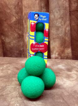 "Sponge Balls 1.5"" Green - Goshman"