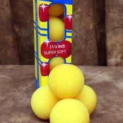 "Sponge Balls Yellow 1.5"" - Goshman"