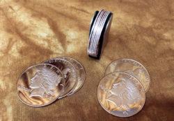 Palming Coins Sliver Dollar