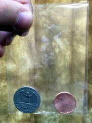 Coin Thru Bag