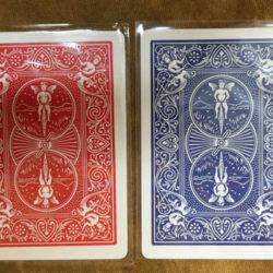 Magnetic Bicycle Cards