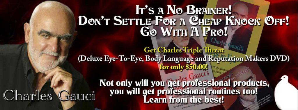 Charles Gauci Eye To Eye