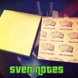 Sven Notes