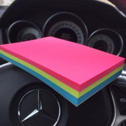 Triple Blank Mercedes