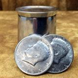 Cup and Coin Half Dollar