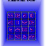 Magic Square - Methods and Tricks