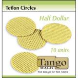 Teflon Circles Half Dollar