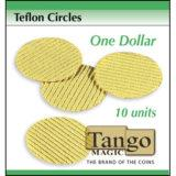 Teflon Circles Dollar Sized