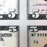 Mismade $5 Bill