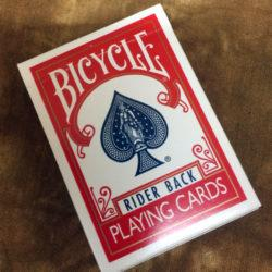 Stripper Deck Bicycle Red