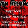 Van Helsing Tarot Book and Marked Tarot Deck Combo