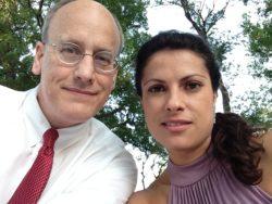 Mark e Cilene Alves Stevens