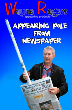 Appearing Pole From Newspaper - Wayne Rogers