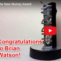 Brian Watson - Black Pool Award