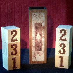 Grant's One, Two, Three Baffling Blocks
