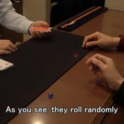 Gambler's Perfect Prediction Dice