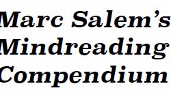 Marc Salem's Mind Reading Compendium