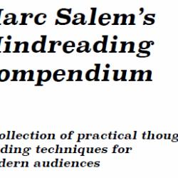 Mind Reading Compendium - Marc Salem