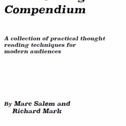 Marc Salem Mind Reading Compendium
