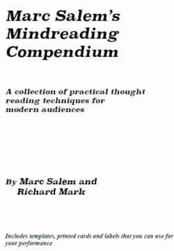 Marc Salem Mind Reading Compendium