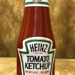 Vanishing Ketchup Bottle - Heinz Label
