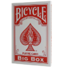 Invisible Deck - RED - Bicycle Jumbo
