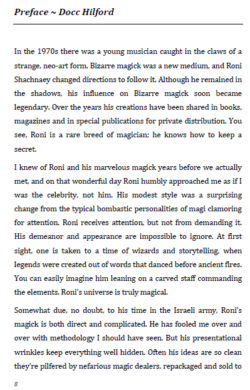 Mystic ~ Roni Shachnaey - Hardbound Book