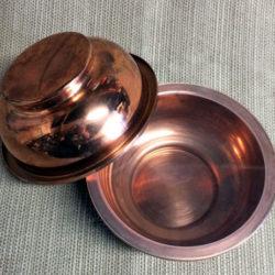 Copper Rice Bowls - Owen's