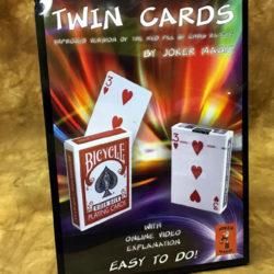 Twin Cards by Joker Magic