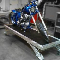Appearing and Vanishing Motorcycle
