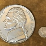 Jumbo 3 Inch Nickel Coin