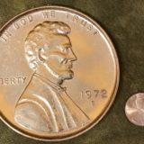 Jumbo 3 Inch Penny Coin