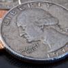 Split Coin Quarter - John Jurney