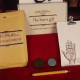 The Seer's Gift - Metal Writing