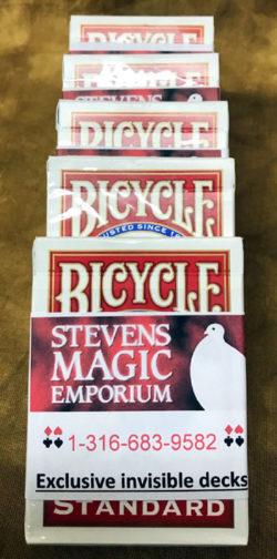 Invisible Magic Card Deck