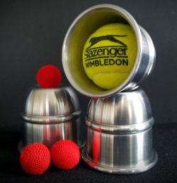 Watson Cups Lite in Satin Alloy