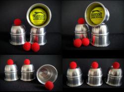 Watson Cups Lite in Satin Alloy - Brian Watson