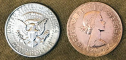 Copper Silver Coins Magic - Sterling Coin Magic
