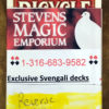 REVERSE Svengali Deck Professional - RED - SME Private Label