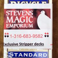 Stripper Professional Deck Blue