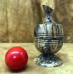 Ball Vase - Richard Spencer - Stabilized Tamarind
