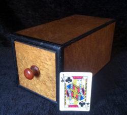 English Burl Wood Drawer Box