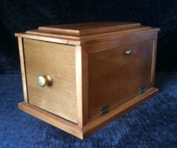 Sesame Drawer Box Les Smith Maple2