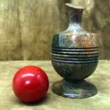 Ball Vase - Richard Spencer - Stabilized Mango