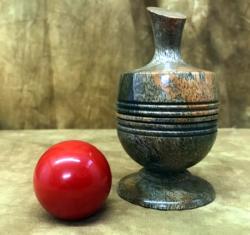Ball Vase - Richard Spencer - Stabilized Mango